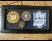 Monedas Harry Potter The Noble Collection Madrid, 28028