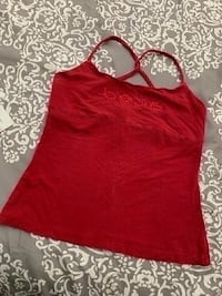 Bebe Burgundy Crop Tank Top (Size Large) Oxnard, 93033