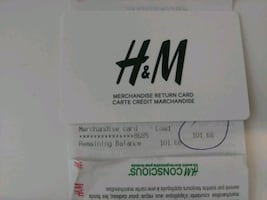 $100 H&M Store Credit for $75