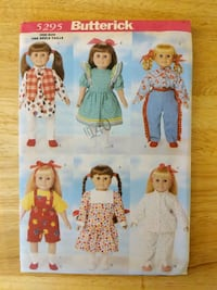"18"" doll clothes pattern"