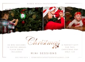 Christmas and Fall photographs now available.