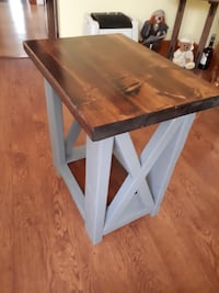 Rustic Farmhouse End Table St. Catharines