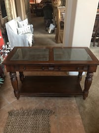 rectangular brown wooden coffee table Oakdale, 95361