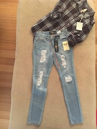New girls outfit size 7 - Lucky Jeans Ashburn, 20147