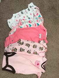 Size 0-3 month onsies