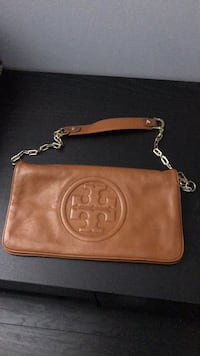 Brown leather Tory Burch crossbody bag Orlando, 32821