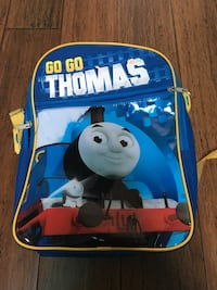 blue, yellow, and red Go Go Thomas backpack