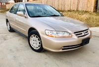 2002 Honda Accord ' Very Low Miles ' Clean Title  Takoma Park