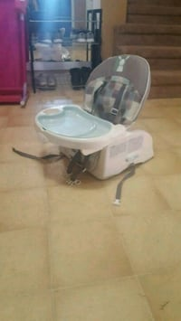 baby's white and gray high chair Surrey, V3R 1V3