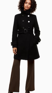 Aritzia Babaton Bromley Wool Coat - Black Size:XS**Christmas Special**Take an extra -15% off  Richmond, V7A 1H2