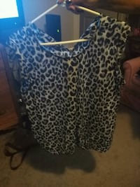 women's black and white leopard print dress Calgary, T2Y