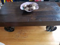 Solid wood coffee table  Toronto, M6M