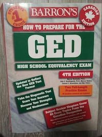Barron's How To Prepare for the GED - 4th edition Mississauga, L5G 1C3
