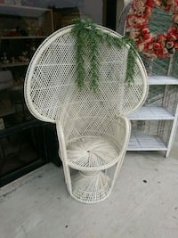 Wicker Peacock Chair Mission, 78572