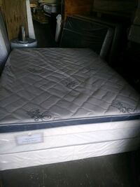 quilted white and gray floral mattress Opa-locka, 33054