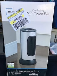 Black and gray mainstay oscillating fan 3144 km