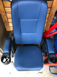 Blue movie theatre seats brand new never used  Strathroy-Caradoc, N0L