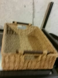 brown and black wooden chest box Hamilton