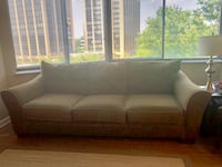 Large comfy couch with matching loveseat!