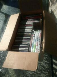 Box or cds and dvds $10 Triangle, 22172
