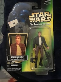 Star Wars The Power of the Force Bespin Han Solo action figure pack Albuquerque, 87111