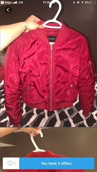 Xs RED BOMBER JACKET Toronto, M6M
