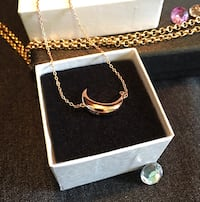 Sterling Silver Rose Gold Necklace  Toronto, M6C 3X2