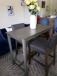 high dining table with 2 chairs Irving
