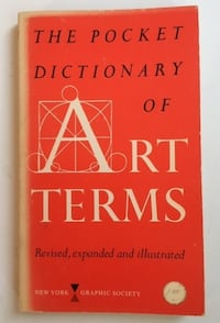 The Pocket Dictionary of Art Terms Toronto