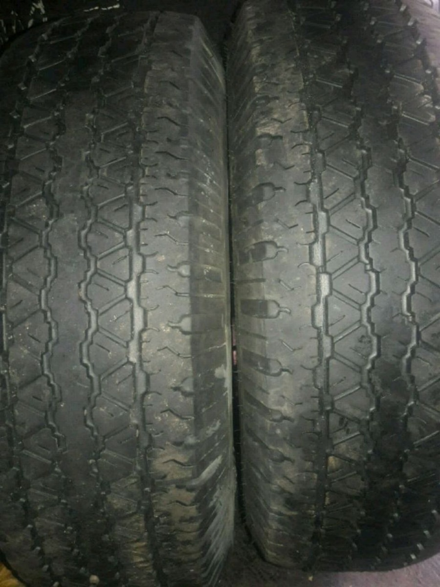 Photo Goodyear Wrangler tires - 235 75 15