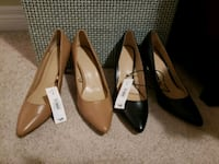 BRAND NEW nude and black pumps Kitchener, N2M 5G9