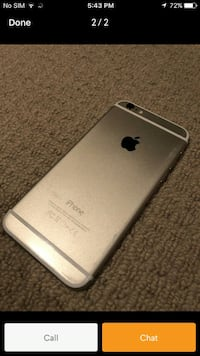 iPhone 6 plus with Roger's / chter great condition