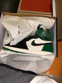 Air Jordan 1s pine green size 11 pick up only  New York, 10031