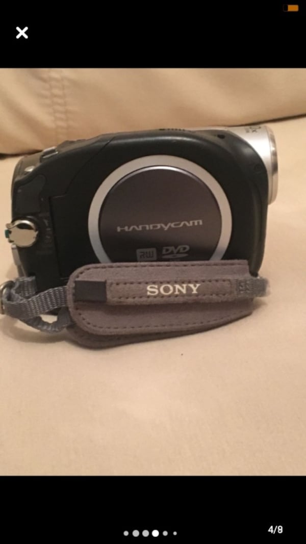 Sony Handycam Video Kamera 3