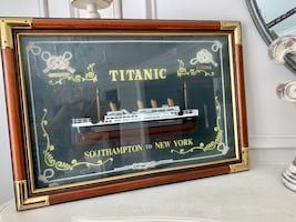 Titanic 3D Wall Decoration Painting style
