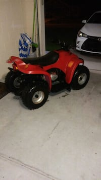 red and black ATV ride-on toy Poinciana, 34759