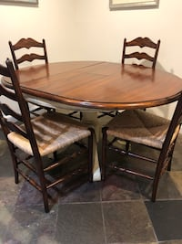 brown wooden dining table set Alexandria, 22314