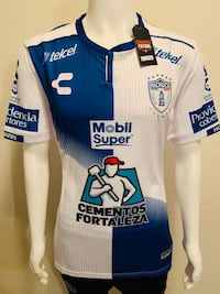 White and blue 2018/19 Pachuca jersey Moreno Valley, 92553