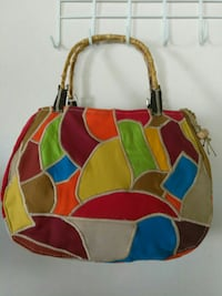 red, green, blue, and brown tote bag Port Richey, 34668