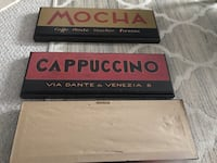 Italian kitchen coffee signs set of 3 Centreville, 20120