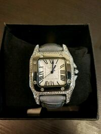 Cartier watch with swarovski stones  Vancouver, V6H