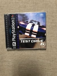 Test Drive 6 For Sony PlayStation PS1 Tested & Works Louisville, 40213