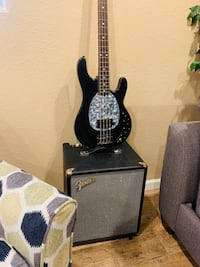 Combo bas/OLP and fender ampli/