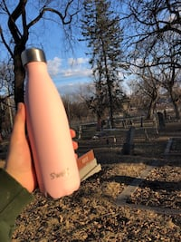 brand new pink swell water bottle