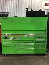 green and gray tool cabinet Ladson, 29456
