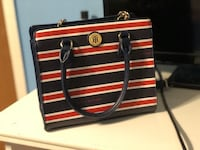 Red and black leather Tommy Hilfiger crossbody  Birmingham, 35206