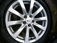 Continental 235/55/R17 - negotiable  Kirkland