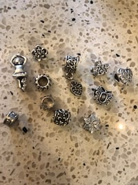 Pewter charms $4each Courtice, L1E 2S2