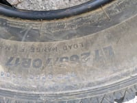 One brand new tire 125 firm King City, L7B 1J8