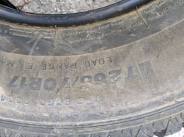 One brand new tire 125 firm